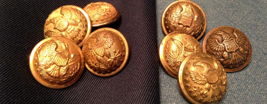 General Staff Buttons of the Civil war